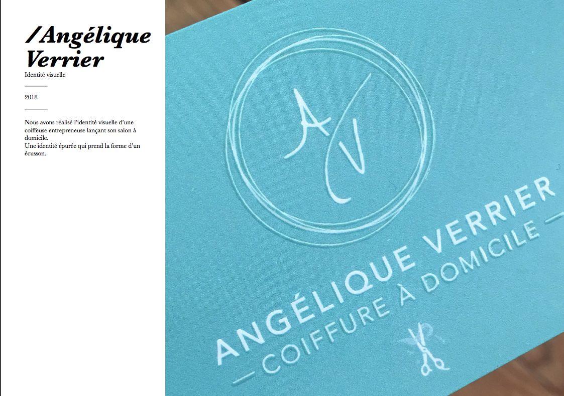 Identité visuelle Angélique Verrier