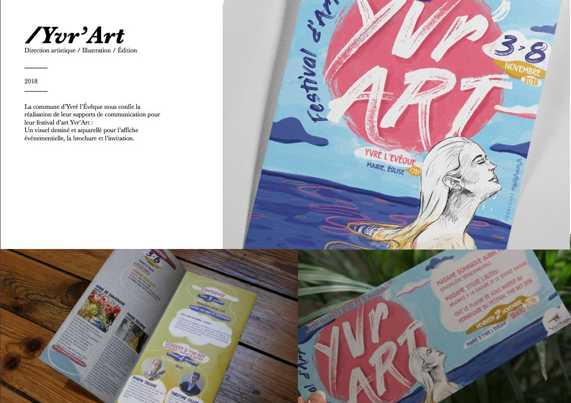 Campagne de communication Yvr'art
