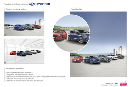 Retouche photo - Client : Hyundai