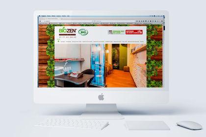 Société Biozen - Webdesign