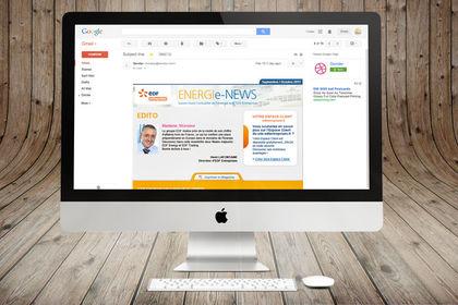 EDF - Webdesign et intégration