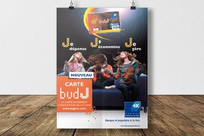 Banque Populaire - Affiche promo