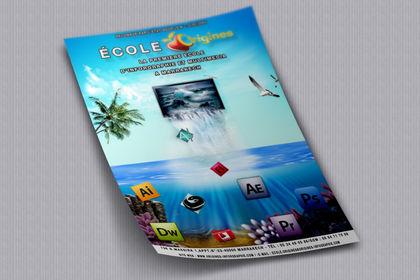 Flyer Ecole de graphisme