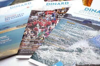 Magazine municipal Dinard Emeraude