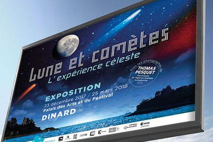 Exposition Lune et comètes