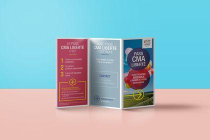 Dépliant marketing - CMA du Rhône