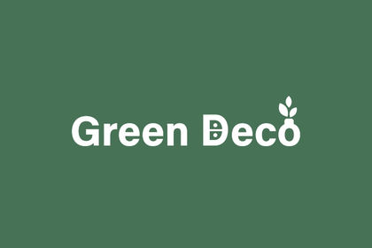 Logo et charte graphique - Green Deco (Bruxelles)