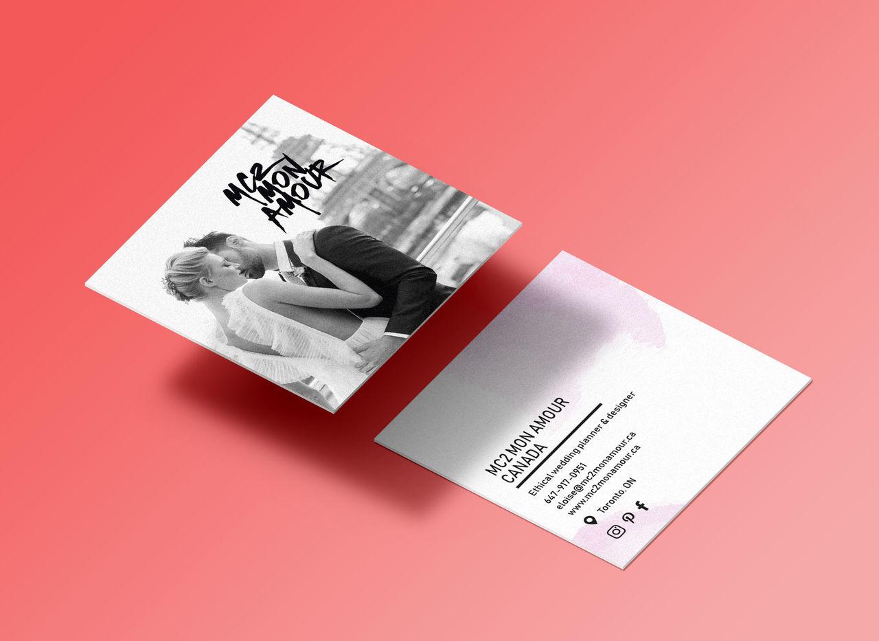 Cartes de visite - MC2 MON AMOUR