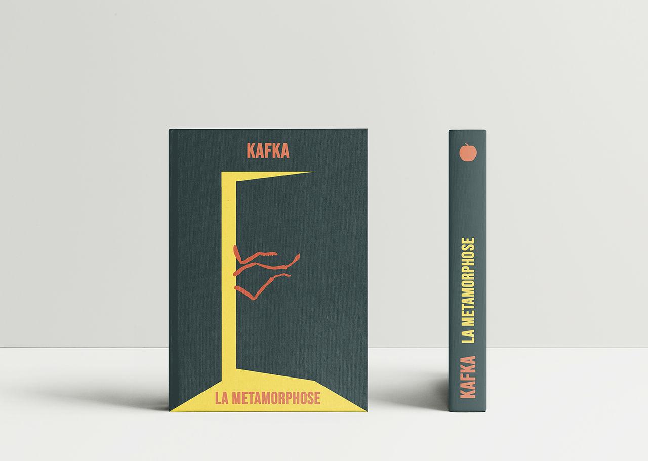 Couverture du livre La Métamorphose de Kafka