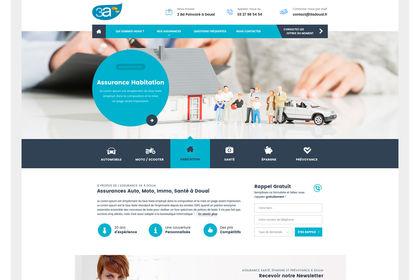 Web Design pour 3A Assurance