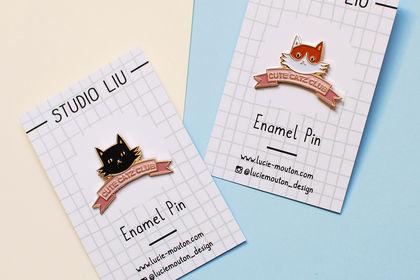 Création de pin's pour ma marque Studio Liu