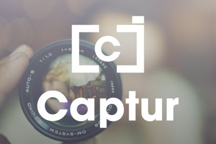 Logo photographe - Captur