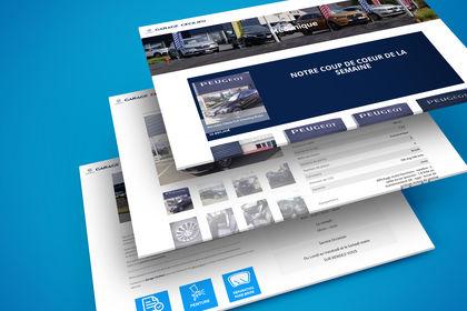 Site Internet Garage