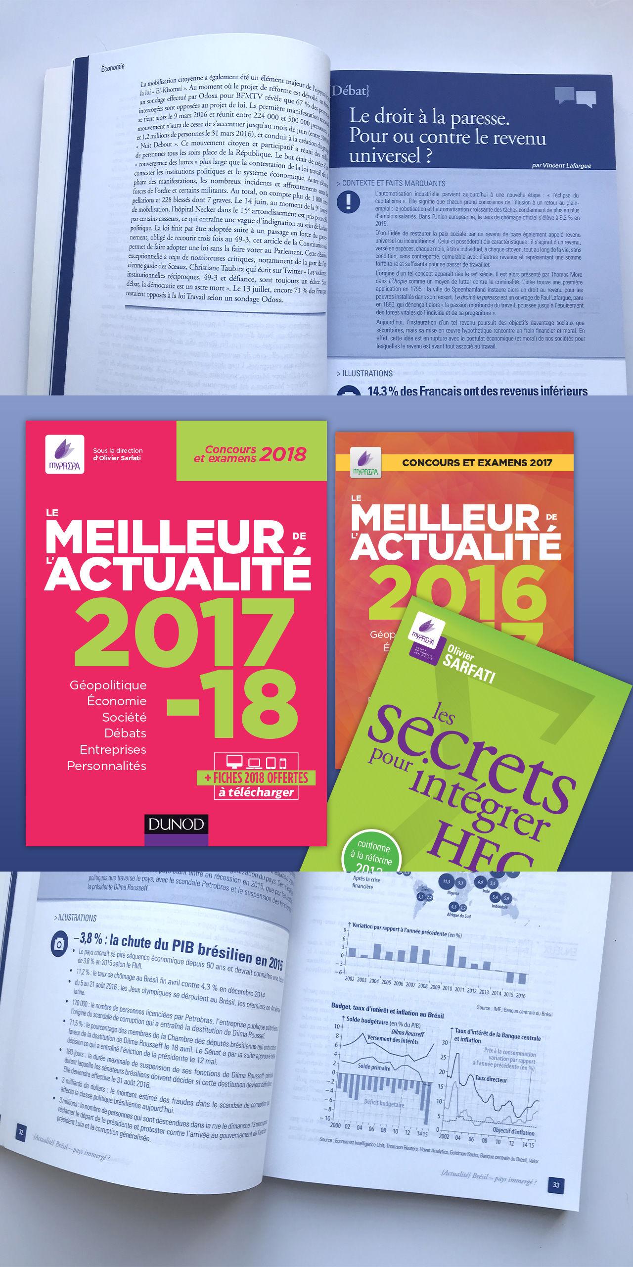 Livres MyPrepa Dunod