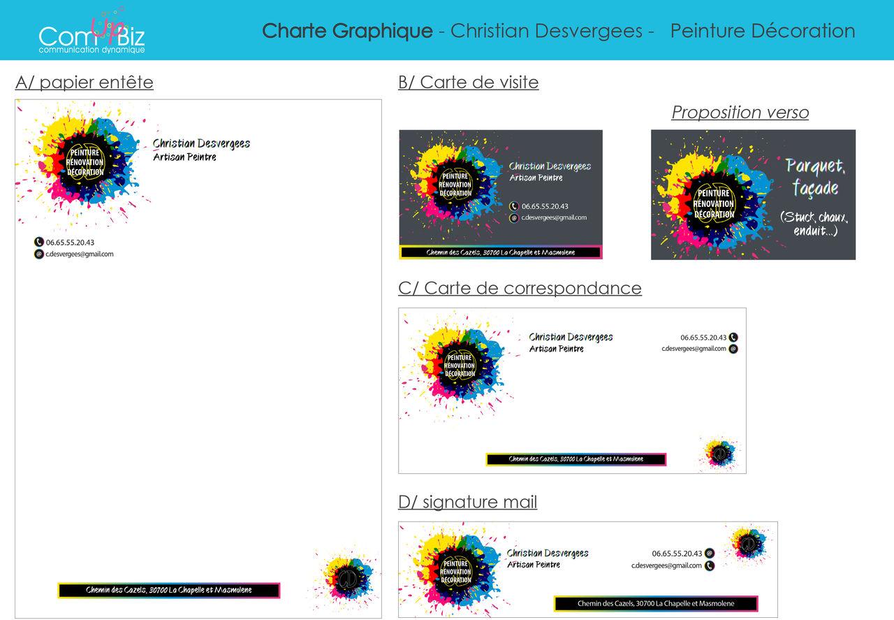 Charte Graphique Christian Desverges