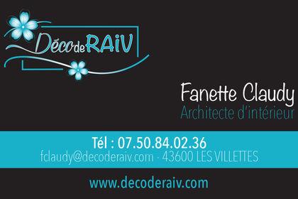 Carte de viste Déco de RAIV