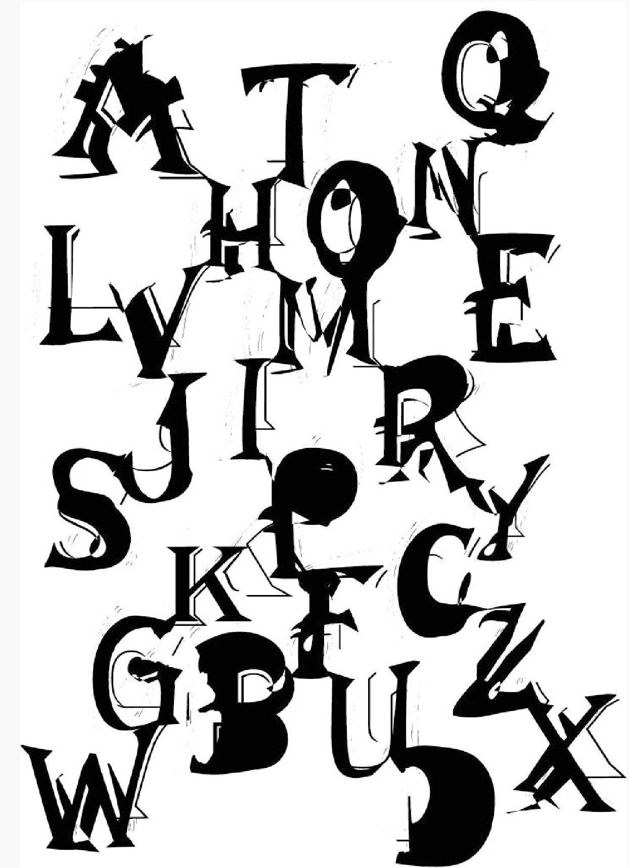 Alphabet imaginaire
