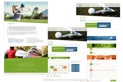 Site web golf