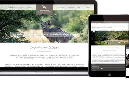 Site web responsive