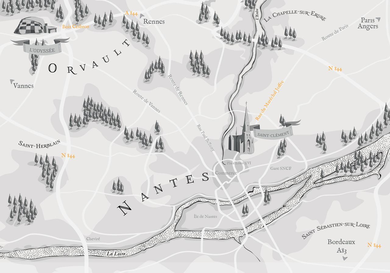 Illustration carte