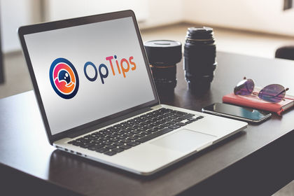 OPTIPS - Réalisation logo