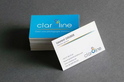 Cartes de visite Claroline