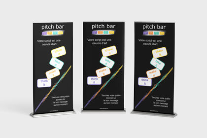 Rollup Pitch Bar