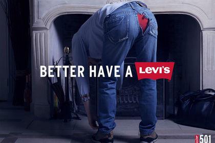 Publicité Levis