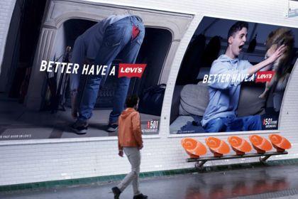 Publicité Levi's
