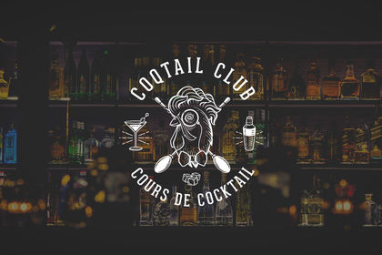 Coqtail club, logo
