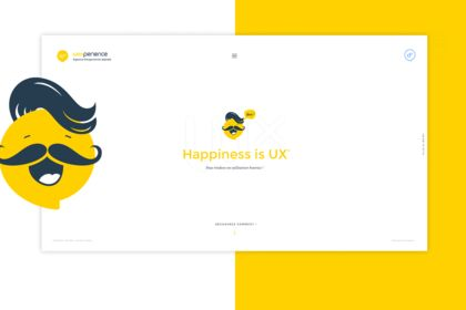 Wexperience, webdesign
