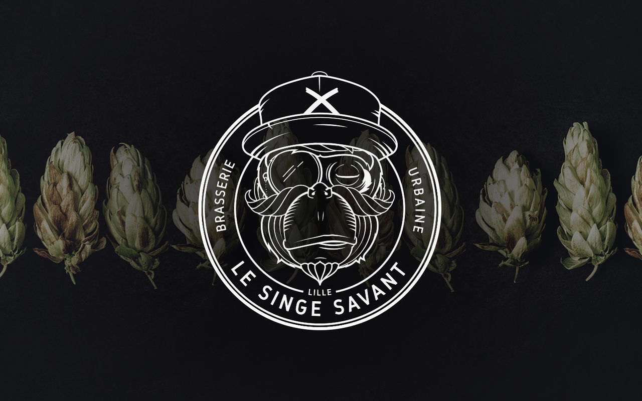 Le singe savant, logo