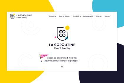 La Coroutine - Webdesign