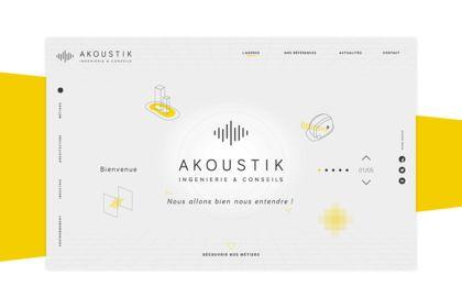 Akoustik webdesign