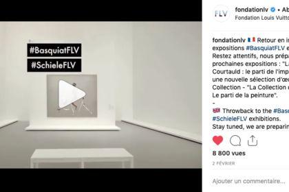 Montage vidéo pour la Fondation Louis Vuitton