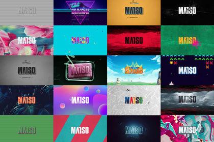 """Motion, Animation pour le site """"MATSO"""""""