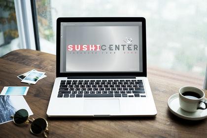 Logo Sushi Center