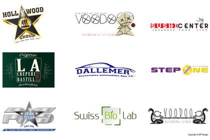 Plaquette Logos MF Design