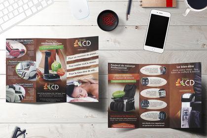 Brochure Recto/Verso Linea CD