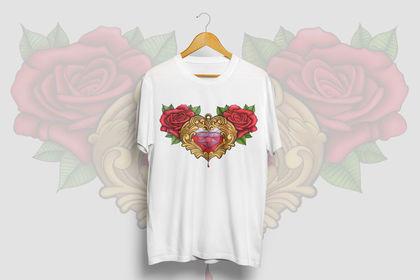 Design t-shirt - Pendentif ancien