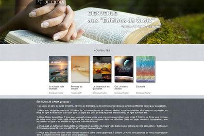 Site Internet ecommerce pour Maison d'Editions