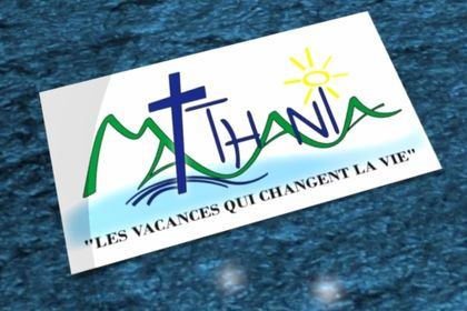 Création de logo pour camp de vacances