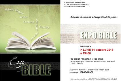 Carton invitation pour expo