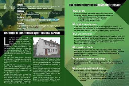 Brochure IBPB