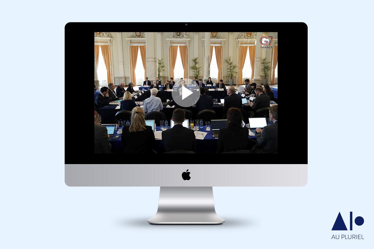 G7 - Vidéos 2ème réunion des Sherpas