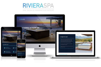 Site web RIVIERA SPA