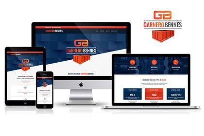 Site web responsive Garnere Bennes