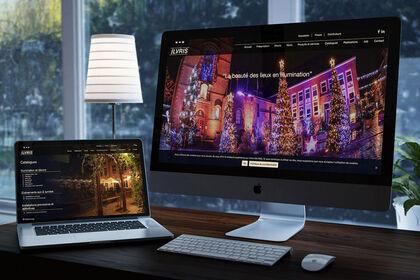 Site internet illumination et décors