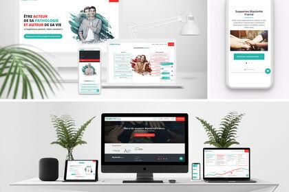 Site internet association santé
