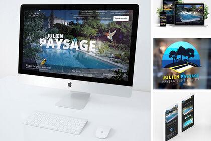 Site internet pour paysagiste-pisciniste